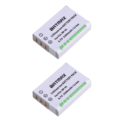 2pcs Battery NP-95 NP 95 Rechargeable Camera Battery For FUJIFILM FinePix F30 F31fd Real 3D W1 X-S1 X100 X100s