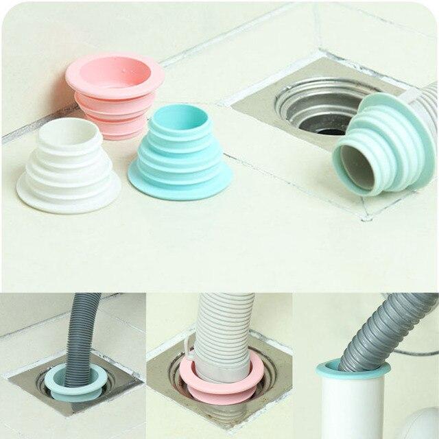 Silicone Deodorante Tenuta Plug Guarnizioni Cucina Tubo di Fogna ...