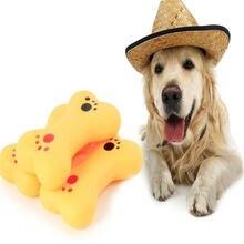 Устойчивые к укусам игрушки для собак щенков моляров резиновые