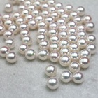 New 100pcs/Set Beads 4mm Cream White Sewing ABS Imitation Pearl Round Loose Spacer Bead
