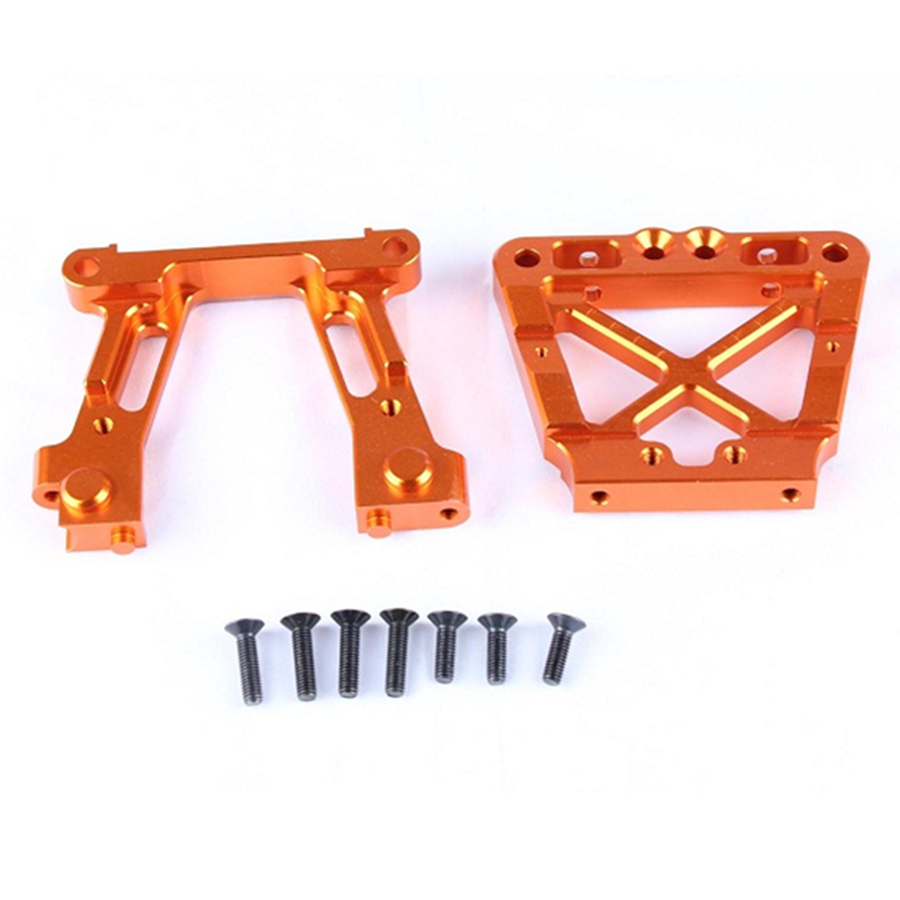 RC Buggy Wave Box (Gear Box) Aluminum Alloy Fixed Bracket Fit For 1/5 Scale RC Gasoline Car HPI Racing Baja Upgrade Accessories