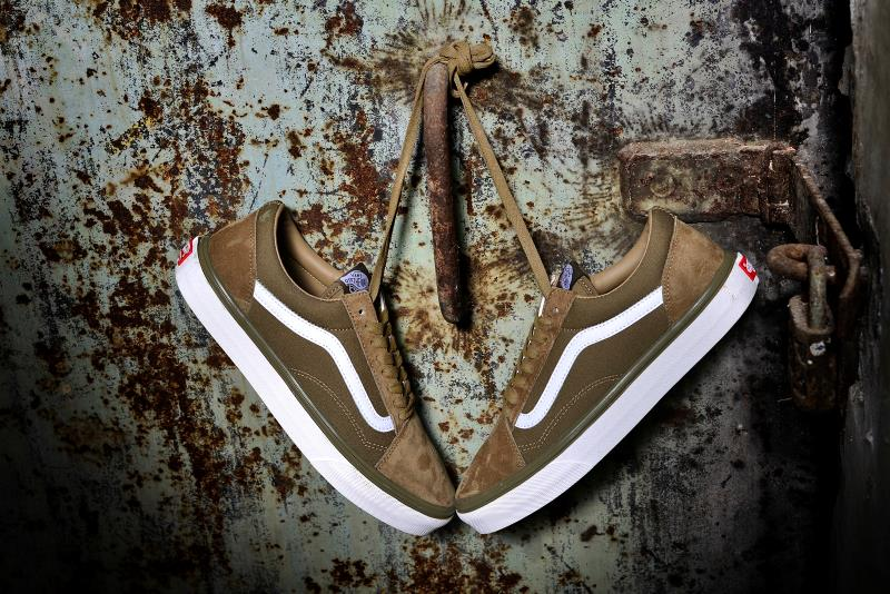Hearty Vans Skateboarding Shoes Wtaps X Vans 2018 Capsule Collection Athletic Shoes Mens Womens Weight Lifting Shoes Size 36-44