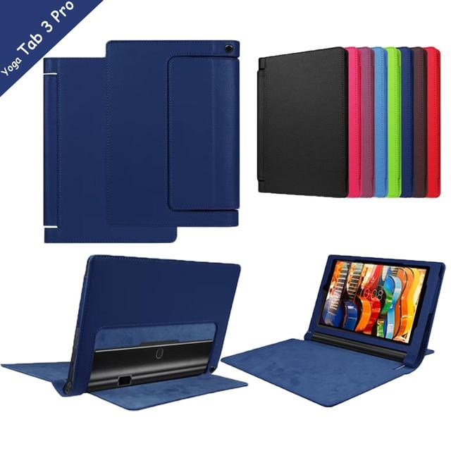 pick up cfc8c 503f4 10 PRO X90 Litchee Pattern Tablet Case for Lenovo Yoga Tab 3 10 Pro  X90/X90F/X90M/X90L Flip Leather Case for yoga tab3 plus case-in Covers &  Cases ...