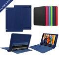 Litchee padrão tablet caso para lenovo yoga 10 pro x90 tab 3 10 pro x90/x90f/x90m/x90l caso de couro da aleta para yoga tab3 plus caso