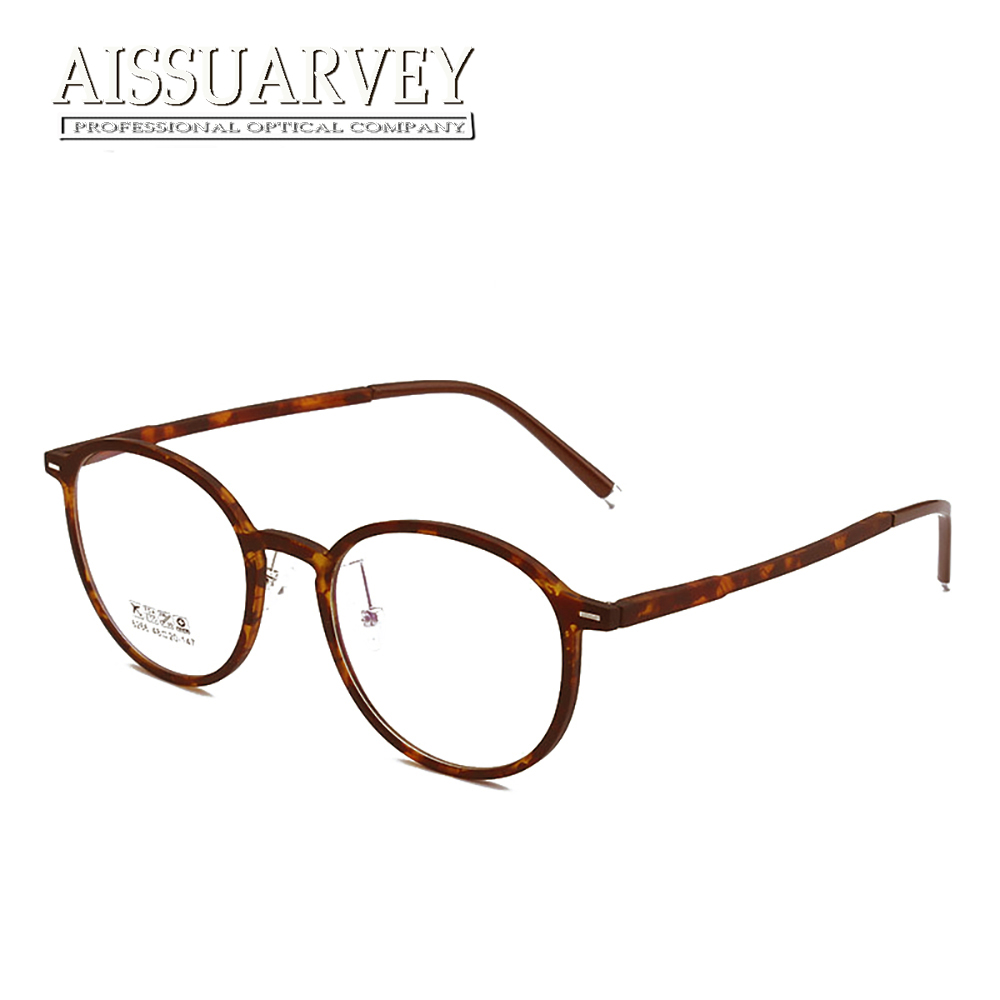 e31800de02a Round Eyeglasses Classic Optical Eye glasses Frame Men Women Prescription Fashion  Eyewear Vintage Circle Goggles Retro Light