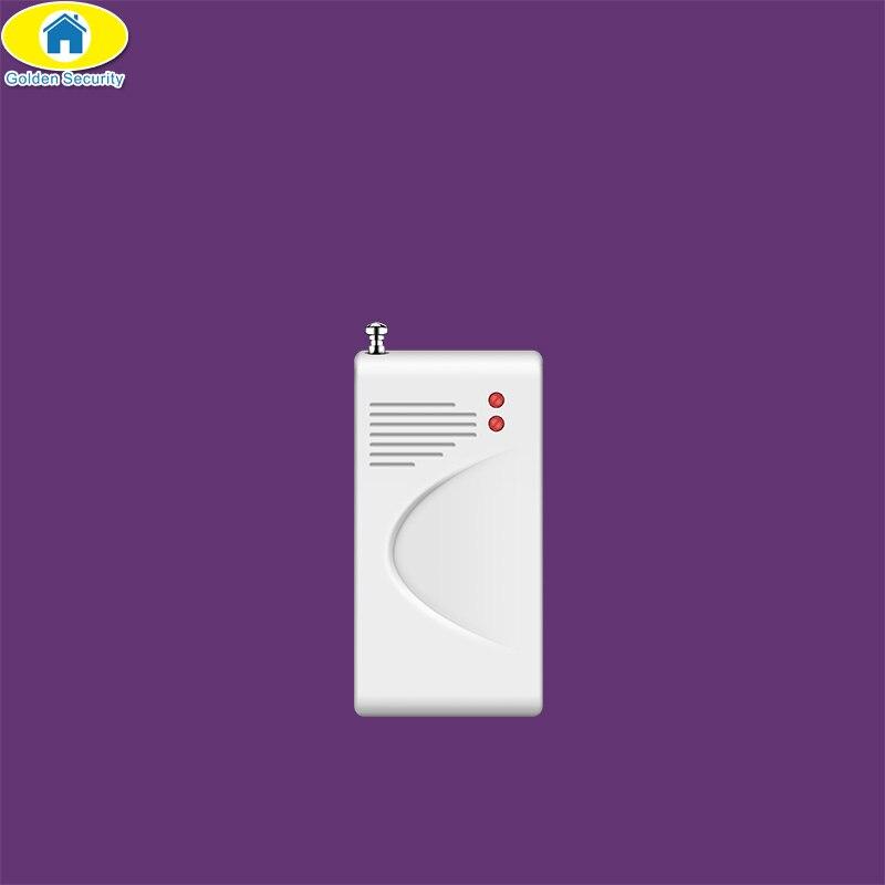 D'or de Sécurité Sans Fil Porte Fenêtre de Détecteur De Vibration Choc Capteur pour G90B Cambrioleur de Sécurité Accueil Système D'alarme Antenne