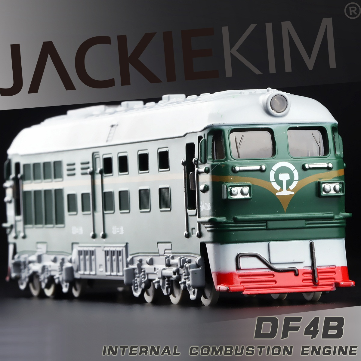 1:87 4B Diesel Engine Pull back Train Model Toy Classic Children's toys Diecasts Toy Vehicles Christmas Gift free shipping