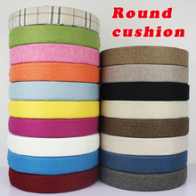 New linen Cushion Round Seat Sofa Chair Pillow Pads Office/Vehicles/Home