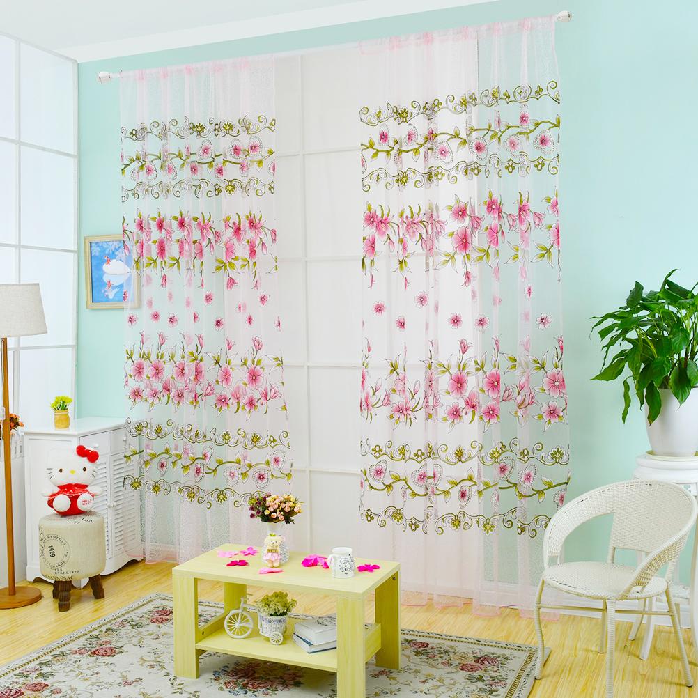 colorido amarillo cortina escarpada moderna cortinas cortinas de tul saln dormitorio de los nios