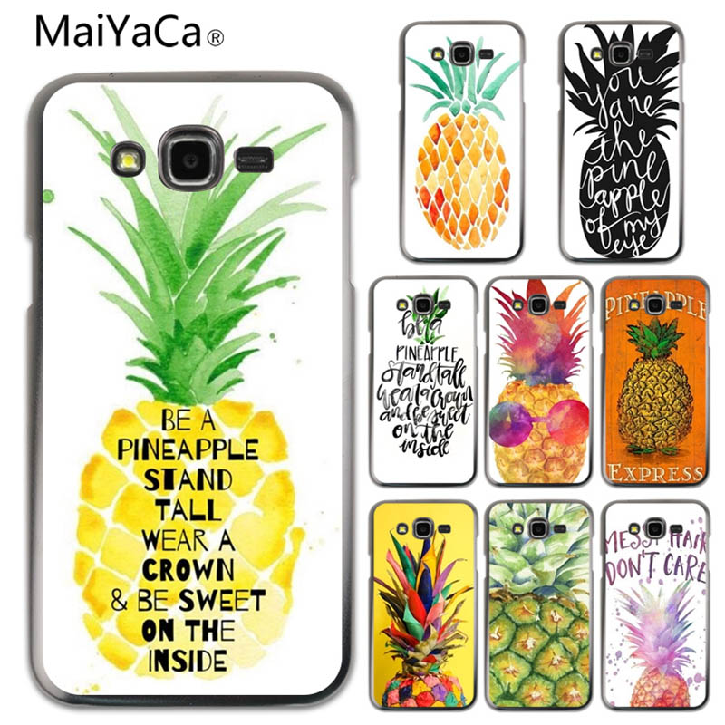 Phone Bags & Cases Cellphones & Telecommunications Maiyaca Hand Painted Pineapple Novelty Fundas Phone Case Cover For Samsung Galaxy A310 A510 A710 J120 J510 J710 Cellphones Easy To Lubricate