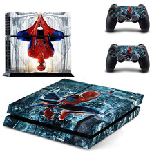 Spider-man PS4 Skin Sticker Decal