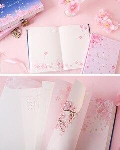 "Image 4 - ""סאקורה קסם"" מנעול תיבת יומן חמוד יומן בנות מכתבים מתנה"