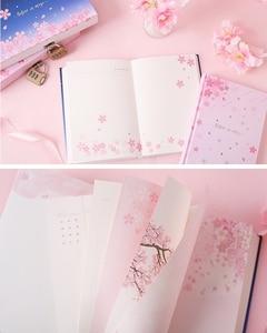 "Image 4 - ""Sakura Magic"" Lock Box Dagboek Notebook Leuke Journal Meisjes Briefpapier Gift"
