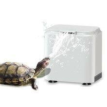 Аквариумная черепаха насос водяного фильтра 2 Вт, низкое положение для запуска воды, Мини Фонтан водопад производитель насос для черепахи танк
