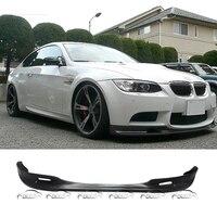 Экспресс доставка 3D Стиль стайлинга автомобилей PU Материал передняя губа спойлер для BMW E90 E92 E93 2008 2013 m3