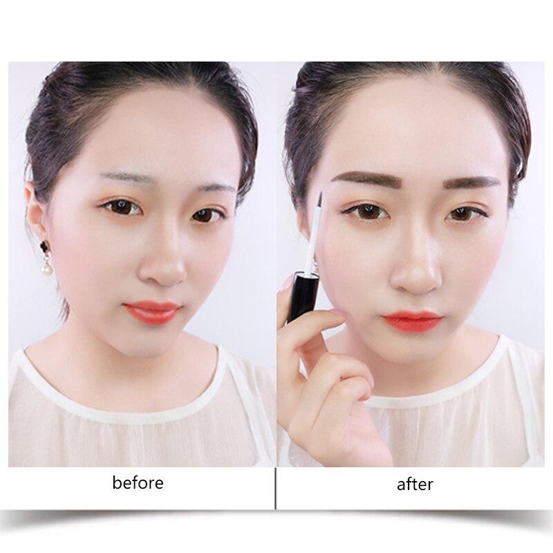 Sale 3 Colors Liphop Tattoo Eyebrow Gel Super Longlastig Waterproof Sweat Professional Peel Off Natural Eyebrow Tint Dye Makeup in Eyebrow Enhancers from Beauty Health