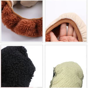 Image 5 - Winter Australian SheepSkin Wool Steering Wheel Cover/Cahsmere handlebar braid on the steering wheel with Anti skid base fabric