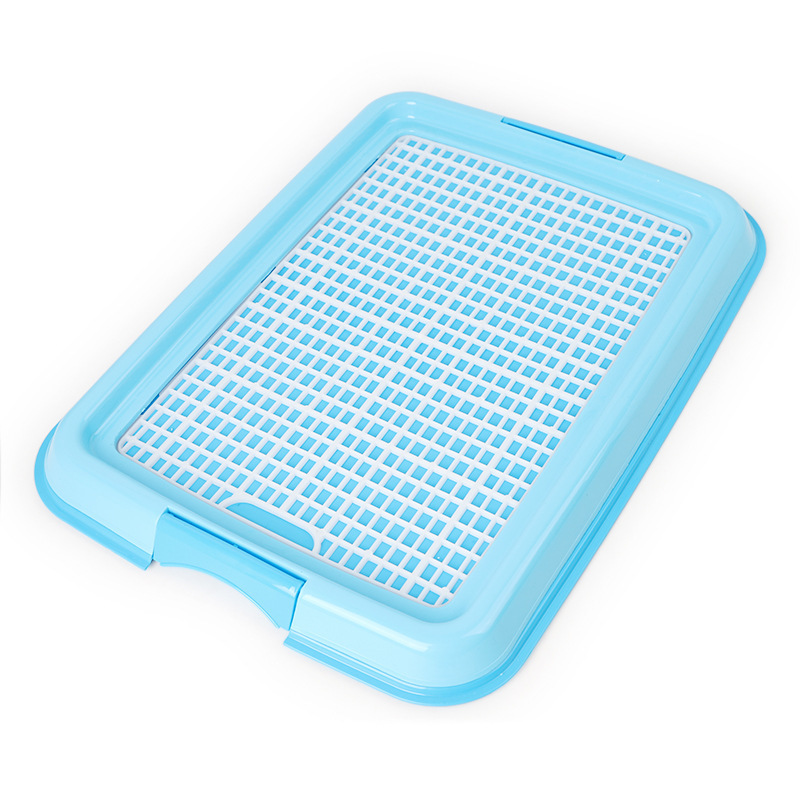 Reusable Puppy Training Pad with Grid Tray for Pets Potty Training Made with PP Resin Material 4