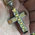 HOt Punk rock new fashion JESUS cross pendant necklaces rope chains for men women necklace jewelry Hip Hop valentine's day gifts