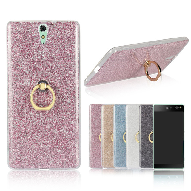 release date: 17f2e 869b2 US $3.79 |For Sony C 5 C5 Ultra E5553 Case Shiny Glitter Silicon TPU with  Ring Holder Back Cover Case for Sony Xperia C5 E5506 E5533 E5563-in Fitted  ...