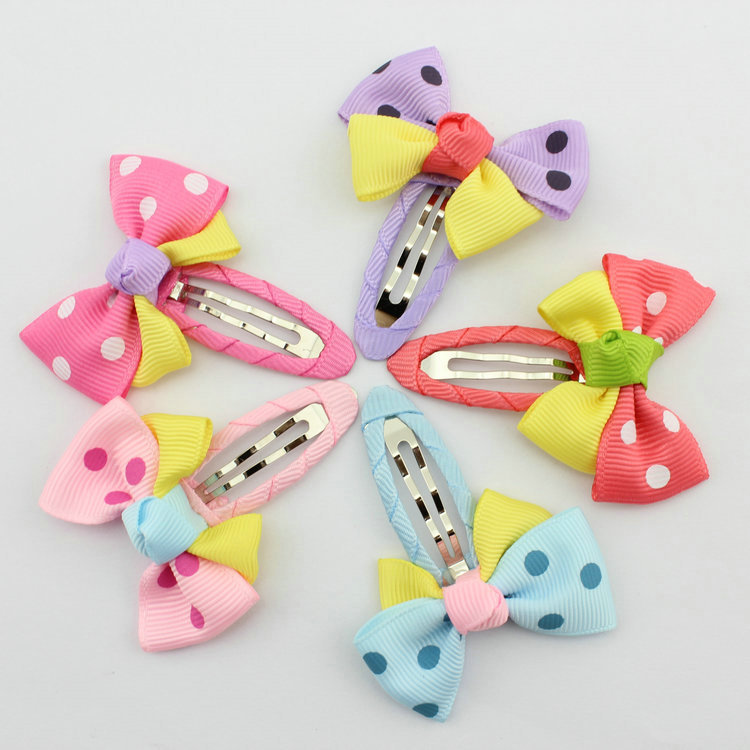 Hot Sale new fashion baby product children accessories hairpins baby flower butterfly hairclips kids hair accessories