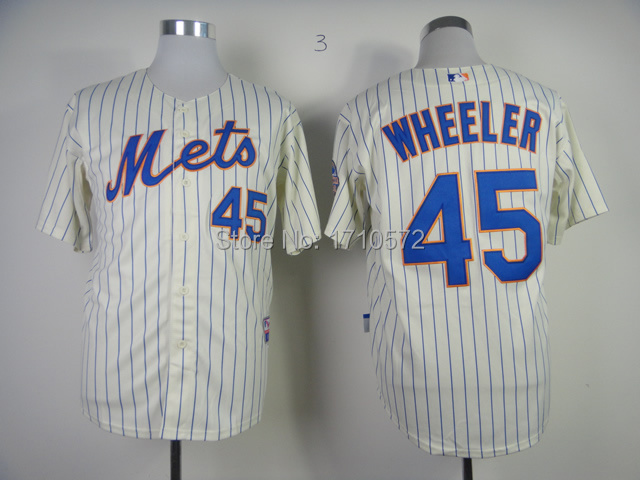 0190a05fa TOP Quality New York Mets Jersey #45 Zack Wheeler Blue Gray Orange Camo  Black White ny Mets Baseball Jersey Stitched Logo Cheap -in Baseball Jerseys  from ...