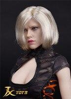 Custom 1/6 Scale Natasha Black Widow 6.0 Head Sculpt for 12inch Action Figure Phicen Tbleague JIAOUL Doll Toys