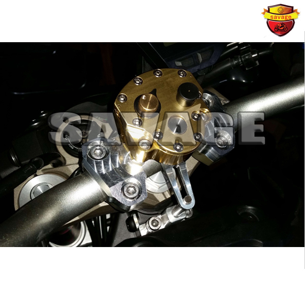 For YAMAHA MT-09 2014-2015 2015 New Arrival Motorcycle Steering Damper with Mounting Kit 2015
