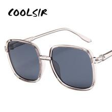 COOLSIR 2019 Luxury Classic Square Sunglasses Women Plastic Retro Sun Glasses Vintage Outdoor Driving Oculos De Sol UV400