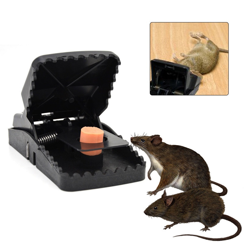 1/3/5Pcs High Qulity Reusable Rat Catching Mouse Killer Traps Mousetrap Bait Snap Spring Rodent Catcher Pest Control image