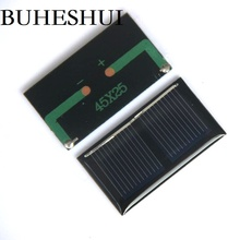 BUHESHUI 1V 125MA Mini Solar Cell Polycrystalline Solar Panel/Module DIY Solar Toy Education Kits 45*25MM 300pcs/lot Wholesale