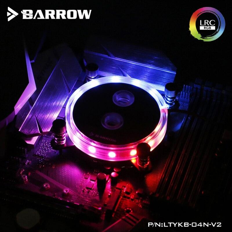 Barrow CPU Water Block Use For Intel LGA 1150 1151 1155 1156 Socket / AM3 AM4 / 2011 X99 X299 / Coper Radiator / Support AURA