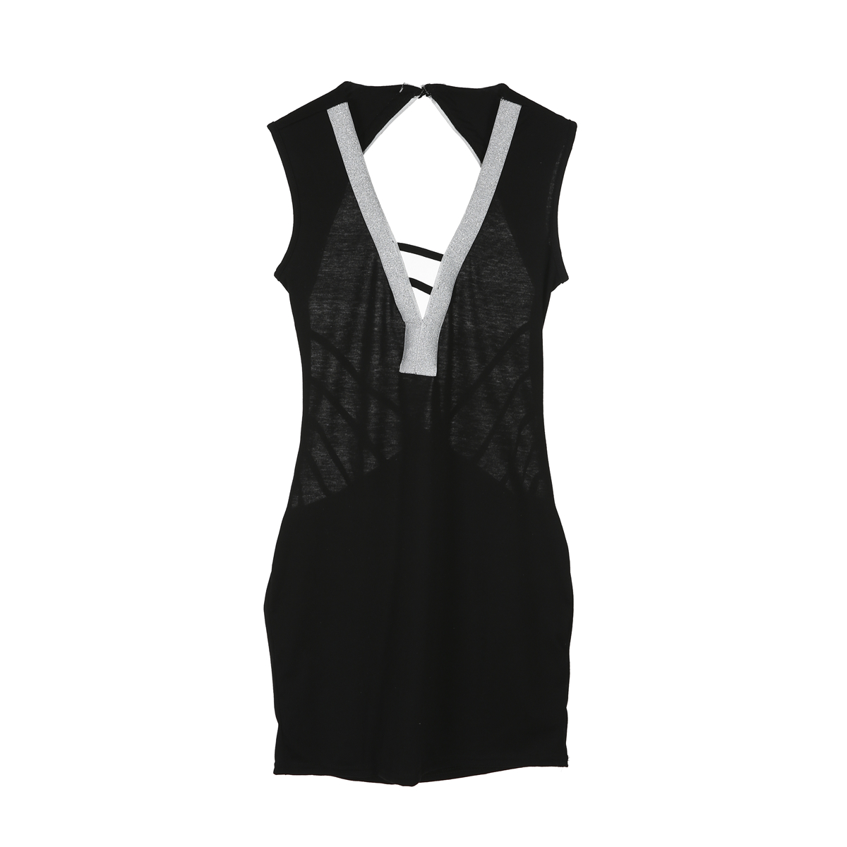 2019 SEXY Women Bandage Bodycon Backless Evening Party V Neck Club Short Mini Dress