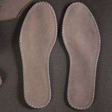 2017 Sales Of The Most Popular Female Suede Insole Thick Breathable Absorbent Insole Male Deodorant Leather Multifunction 35-45
