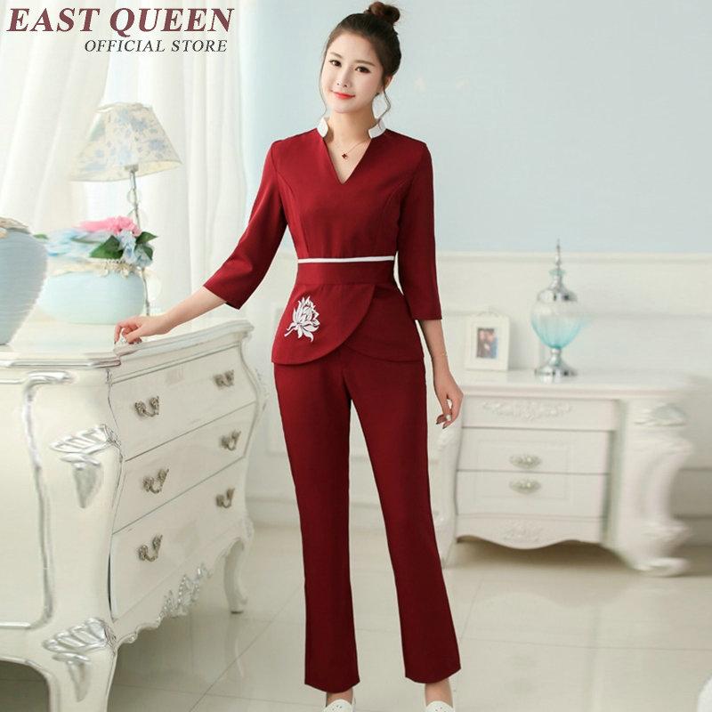 Spa uniform salon accessories women beauty salon uniform for Spa uniform price