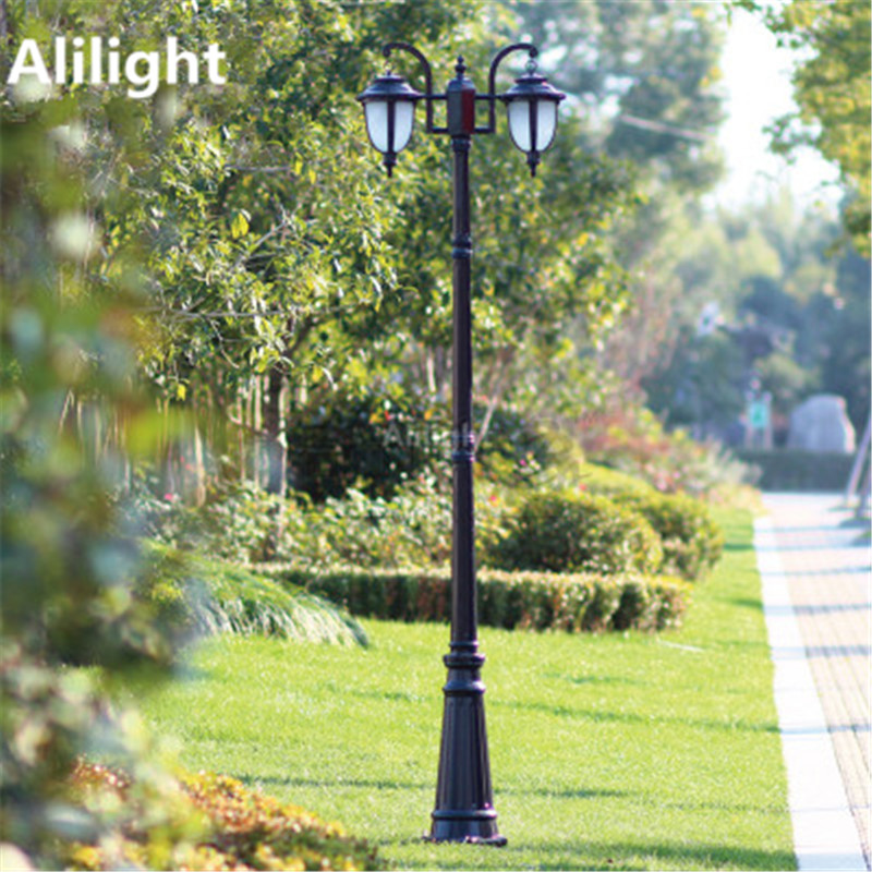 Europe garden outdoor lighting poles blackbronze classical europe garden outdoor lighting poles blackbronze classical landscape lighting lamp 2m25m29m aluminum ac 100 240v fixtures aloadofball Image collections