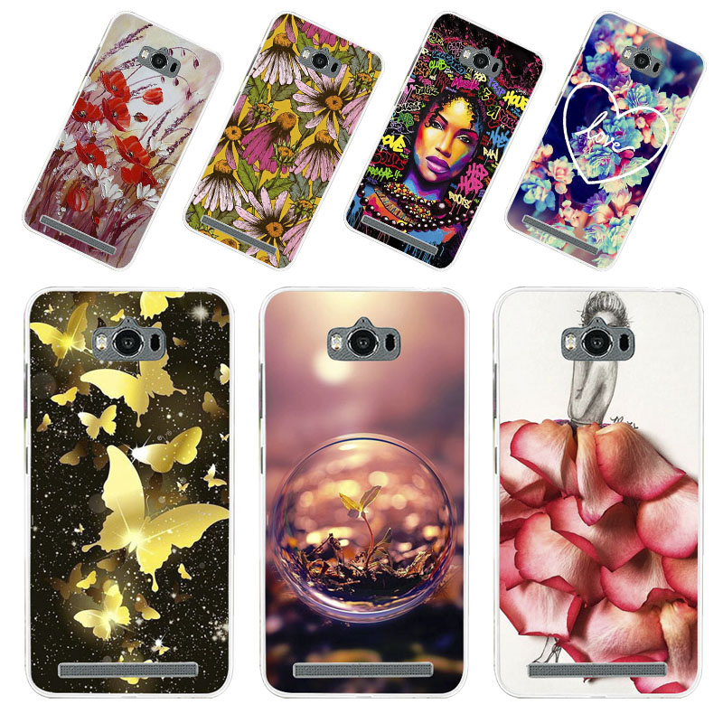 Phone Case For ASUS Zenfone MAX Cases Silicone Animal Bumper On The For ASUS_<font><b>Z010DD</b></font> Z010D ZC550KL Z010DA Cover Fundas Coque image
