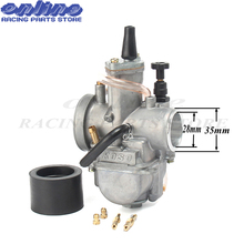 Carb for koso pwk28 carburetor Carburador 28mm with power jet fit on 2T/4T motorcycle engine racing motor