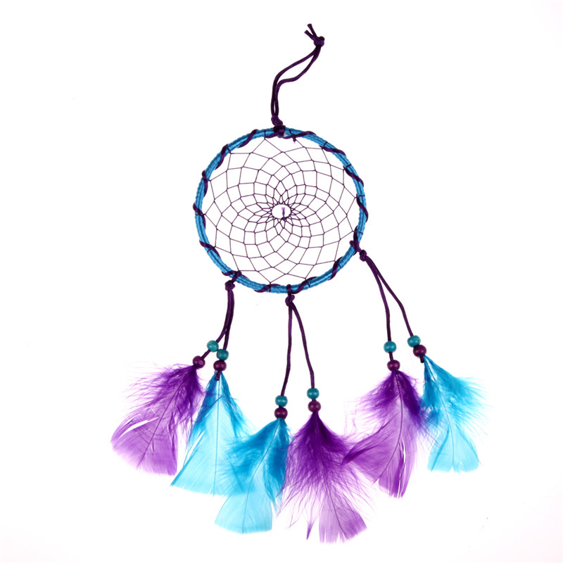 Car Home decoration ornament handmade Dream Catcher feathers Indian wall hanging