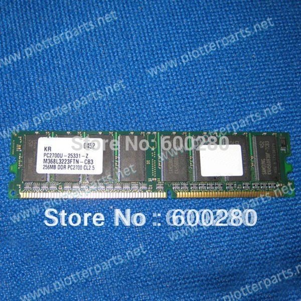 все цены на Q1273-60249 Q1273-60078 Q5673A 256MB 184Mhz SDRAM DIMM memory module for fit HP DesignJet 4000 4500 Z6100 plotter parts онлайн