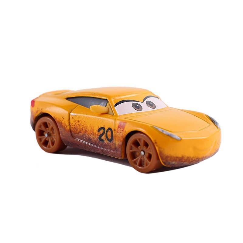 Disney Pixar Carros Relâmpago Mcqueen 2 Brinquedos Para As Crianças de Alta Qualidade da liga de Metal Modelos de Carros Brinquedos Dos Desenhos Animados Brinquedos de Aniversário Do Miúdo presentes