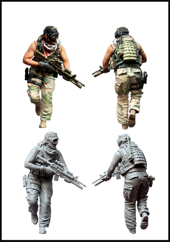 pre order-Resin toys   U.S.Special forces operator in finght. (Afghanistan 2001-2003)   Free shipping teaching writing methods in afghanistan