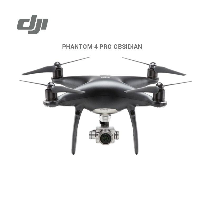 DJI Phantom 4 pro obsidian Drone black color with 4K video 1080p camera rc helicopter VS DJI Mavic platinum