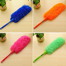New Soft Microfiber Cleaning Duster Dust Cleaner Handle Feather Static Anti Magic Household Cleaning Tools