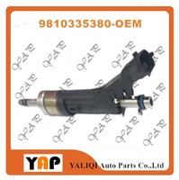 Used Fuel Injector (4) FOR FITPEUGEOT 308 MK2 T9 1.2L L4 9810335380 2002-2016