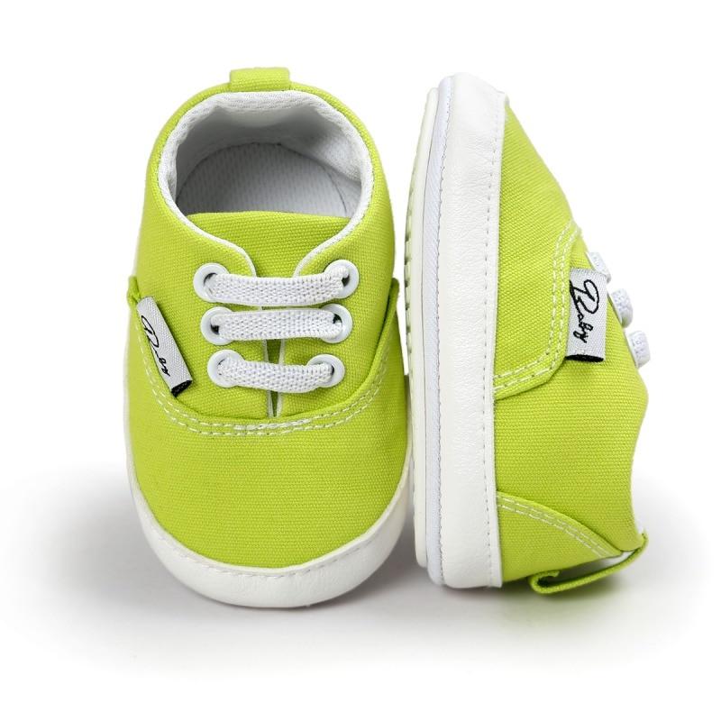 2017 baby canvas schoenen antislip leuke casual babyschoenen zachte zool casual lente / herfst 12 kleur beschikbaar