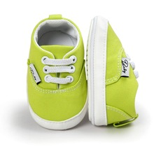 2017 Baby Canvas Shoes Anti-skid Cute Casual First Walkers Soft Sole Casual Spring/Autumn 12 Color Available