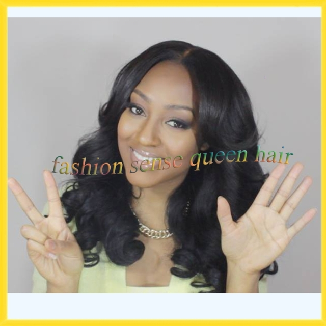 Fashion Hair Wigs Sexy Spring Curl Cheap Sew In Hair U Part Wig