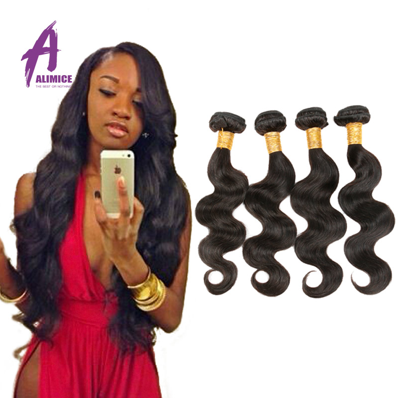 Brazilian Virgin Hair Body Wave 4 Bundles 7A Brazilian Body Wave Virgin Hair 4 Bundles Unprocessed Brazilian Hair Weave Bundles