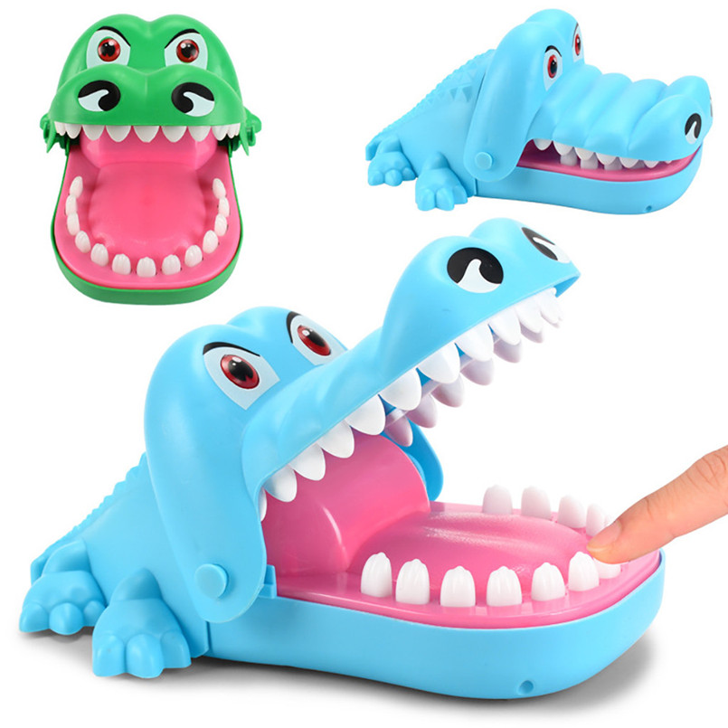 Educational Toy Good Hungry Wolf Dentist Game Classic Biting Hand Party Game For Family Fashion Funny Game 40MY27